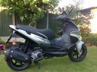 PX welcome, practically like brand new Gilera Runner 125cc Silver Soul Pitstop Edition.