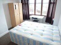 SPACIOUS SINGLE ROOM WITH DOUBLE BED TO RENT IN PERIVALE STATION (CENTRAL LINE) ZONE 4