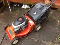 Petrol lawn mower self propelled (provisionally sold on sunday)