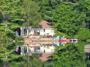 Cottage For Rent on Beautiful Trout Lake in the Valley