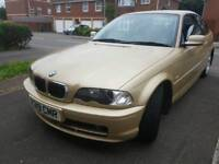 BMW 3SERIES ,1 OWNER FROM NEW ,76K, LONG MOT ,FULL SERVICE ,RS SENSOR ,LEATHER SEAT,£1050 ONO