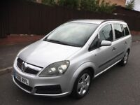 Vauxhall Zafira Life 1.6 Petrol 12 Months MOT 66000 Genuine Low Mileage HPI Clear 7 Seater