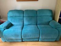 DFS Newbury manual 3 + 2 recliners