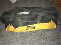 Dewalt 18v circular rip saw combi drill torch 2 batteries charger and bag