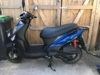 Kymco Agility 125 Moped 2014 spares or repairs