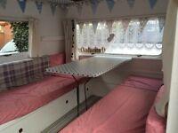 Fully Restored 2/3 Birth Vintage Caravan (1968 Astral Scout)