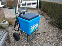 SHAKESPEARE SEA FISHING BOX AND TROLLEY