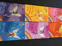 Rainbow Magic books number , 9, 10, 11, 12, 13 and 14. £6 ONO.