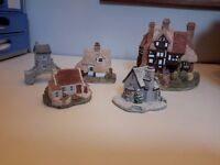 Five Lilliput Lane Cottages selling due to house clearance. Owner moving to Rest Home
