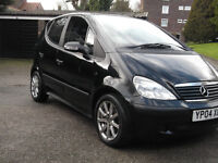 2004 (04) Mercedes A-Class 1600cc, 5 Door Hatchback,