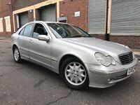 Mercedes-Benz C Class 2002 2.1 C220 CDI Avantgarde 4 door AUTOMATIC, HUGE SPEC, LONG MOT, BARGAIN