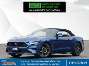 2018 Ford Mustang Ecoboost Premium ***leather, auto***