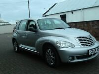 2005 55 CHRYSLER PT CRUISER 2.4 LIMITED ** ONLY 45950 MILES ** CHROME PACK ** LEATHER INTERIOR **