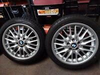 Genuine BMW alloys & winter tyres