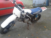 50cc puch with honda engine off road bike