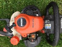 Nearly new petrol hedge trimmer