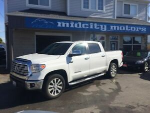 2015 Toyota Tundra Limited Crew Max+Leather+Nav+Sunroof