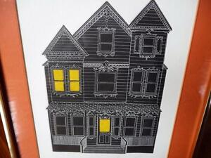 "American Jonathan Talbot ""Park Avenue Victorian"" 1975, Signed Stratford Kitchener Area image 2"