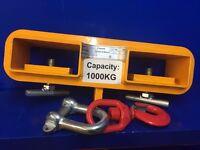 Forklift swivel hoist attachment (1000kg)