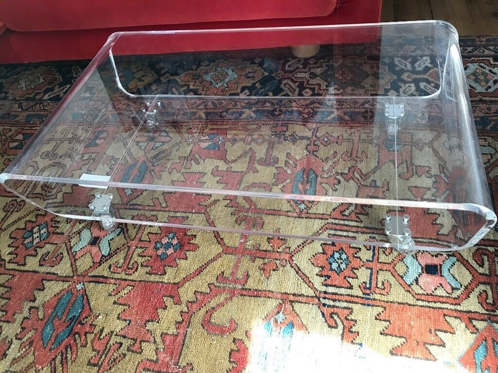 Perspex Coffee Table Or Tv Stand