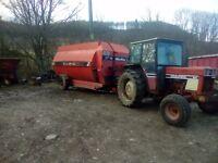 Hi spec mixer wagon