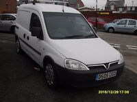 COMBO VAN 1.7cc diesel..2005..With Factory Fit Seats
