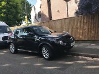 Nissan Juke 2011 black petrol manual 5dr hatchback