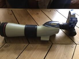 Nikon ED 60 field scope with 20ww and 30x lenses