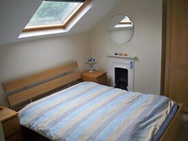 2 large double-bed rooms in friendly shared house. Would suit young professionals or student.