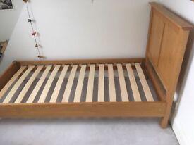 John Lewis single bed with matress