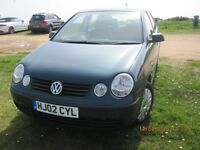 Volkswagon Polo 1.4L, Petrol, Automatic transmission