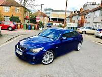 2009 / 59 BMW 5 SERIES M SPORT BUSINESS EDITION 530D AUTO FULLY LOADED SATNAV LEATHER
