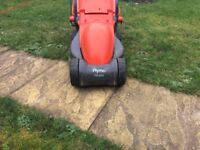 Flymo RE320 Electric Lawn Mower with trimmer