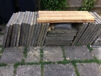 SOLD - Paving Slabs (Quantity 31)