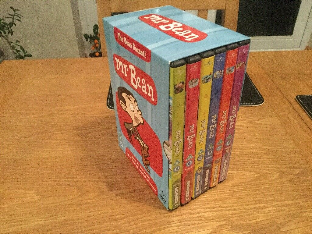 Dvds Mr Bean Boxed Set In Cramlington Northumberland
