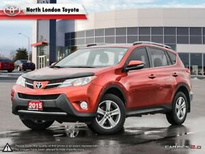 2015 Toyota RAV4 XLE Great cargo space and safety ratings - E...