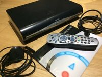 Sky+ HD box - plus remote control, HDMI, power lead