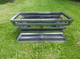 Gallery Cantilever fire grate