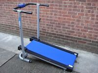 Pro Fitness Manual Treadmill, Foldable, Can Deliver