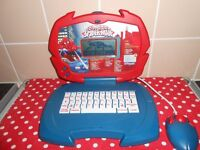 MARVEL ULTIMATE SPIDER-MAN LAPTOP - AS NEW