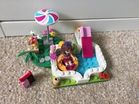 Lego Friends Olivia's Garden Pool 41090