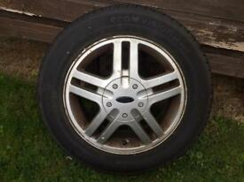 """15"""" Ford Focus alloy wheels set of 4"""