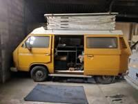 VW T25 camper van devon conversion