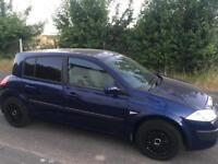 Renault Megane 2005 automatic 1.6l - LOW MILEAGE