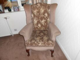 Wingback Occasional Chair