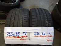 """19"""" & 20"""" TYRES all top brands MOST SIZES AVAIL MATCHING SETS & PAIRS txt size for price & avail"""