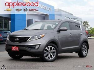 2016 Kia Sportage EX PUSH BUTTON START, HEATED SEATS, BLUETOO...