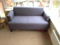 Grey 2 seater sofa in excellent condition