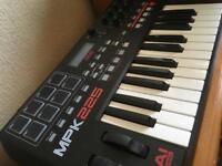 Akai MPK 225 Midi Keyboard Controller