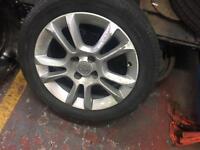 Vauxhall CORSA ALLOYS SET